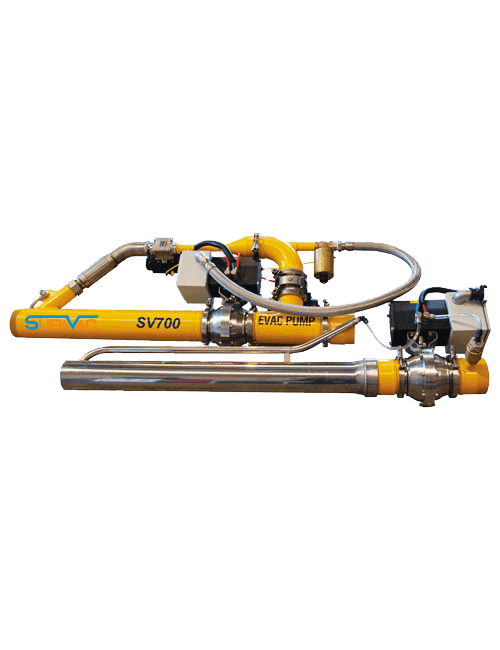 Supervac In-Line Vacuum Pump